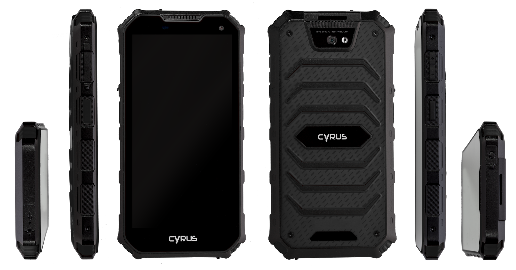 Cyrus Outdoor phone Handy CS24 mobile phone tracker app jaegermagazin