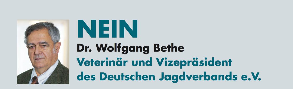Dr. Wolfgang Bethe