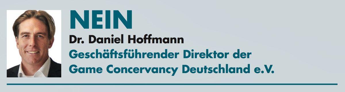 Dr. Daniel Hoffmann (GameConservancyDeutschland)