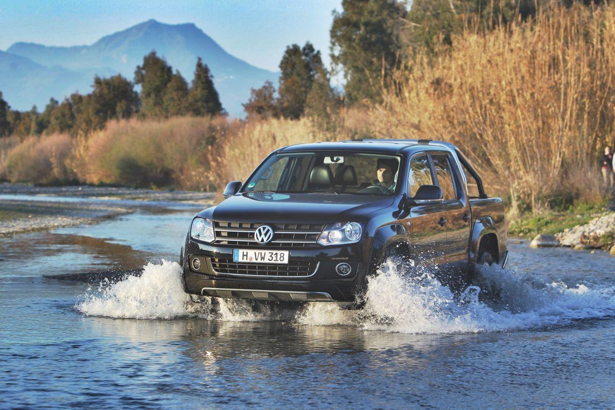 VW Amarok: Gewinner des Goldenen Keilers 2010.