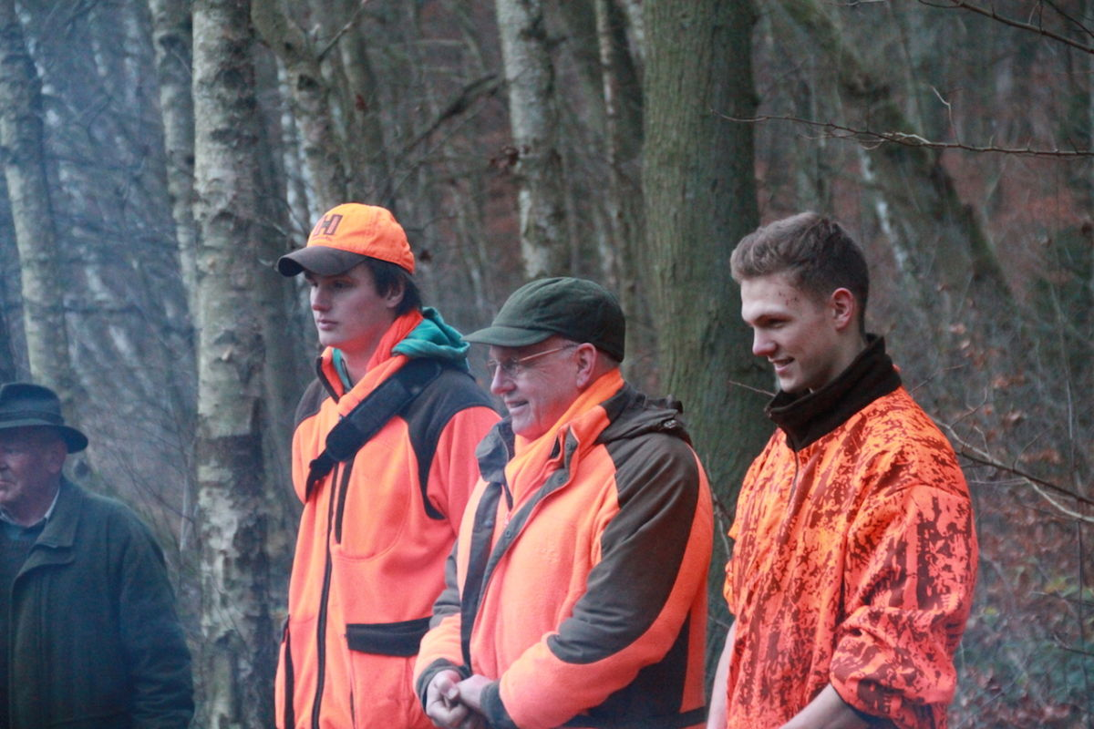 Jagd wird in der Familie Reilmann großgeschrieben. Hier Vater Friedrich mit seinen Söhnen. ©Paul Reilmann