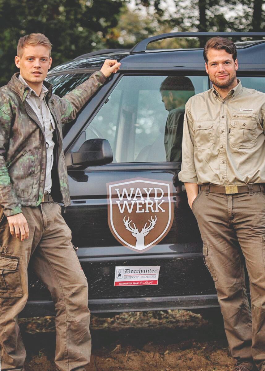 Philippe Hohnke (links) und Cédric Rauhaus: die Gründer von Waldwerk. ©Waydwerk