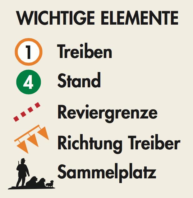 Legende: Die wichtigsten Elemente der Standkarte ©Philipp Refeld