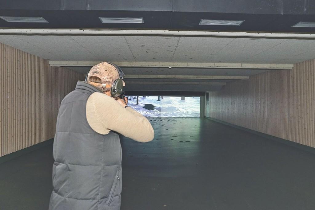 Schießkinos bieten die Möglichkeit, eine Vielzahl von unterschiedlichen Situationen mit der eigenen Waffe zu trainieren. ©Jägermagazin