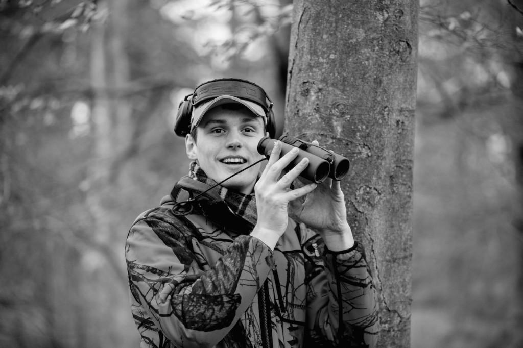 Gute Ausrüstung macht Freude - Besonders was die Optik angeht! ©Pauline v. Hardenberg