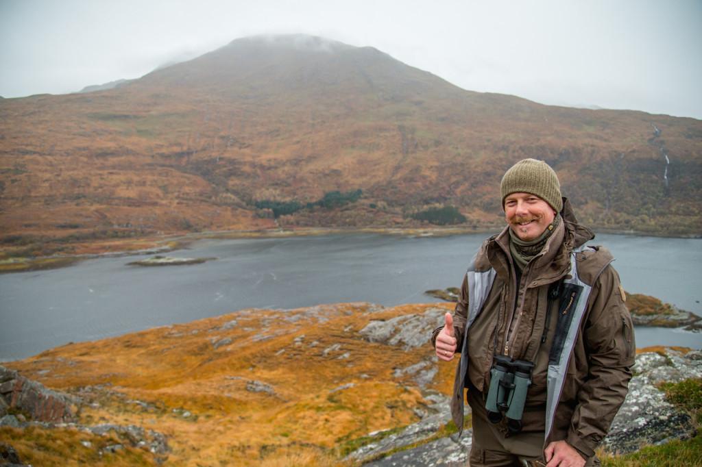 Lapplandjacke und Eco-Shell Jacke erwiesen sich als gute Kombination, um für jedes Wetter gewappnet zu sein. ©Hamza Yassin