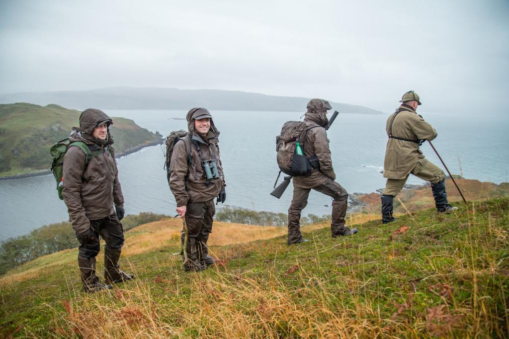 Die Jacke trotzte dem schottischen Wetter - Tag für Tag. ©Hamza Yassin