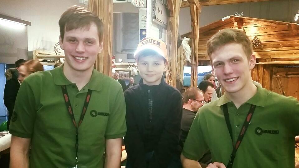 Julius (10) war eindeutig unser jüngster Fan auf der Messe.
