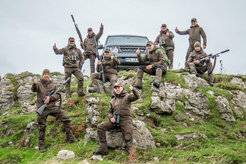 Der Discovery war in den Highlands in seinem Element, das fanden auch unsere Tester ! ©Hamza Yassin