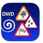WARNWETTER Der Deutsche Wetterdienst bietet mit dieser kostenlosen App vor allem Unwetterwarnungen und Regenradar. Besonders hat die Speichermöglichkeit von Orten gefallen, so ist die Bedienung für den Wissbegierigen noch einfacher.