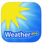 WEATHER PRO (2,99 €) Diese App ist für Apple und Android erhältlich und mit allen notwendigen Informationen ausgestattet. Außerdem ist die App Smartwatch-tauglich und wird in der Nachrichtenzentrale ihres Handys angezeigt. Teuer, aber gut.