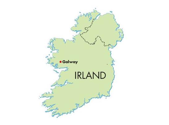 Screebe House liegt in Galway, der Hauptstadt der Grafschaft Galway, die zur irischen Provinz Connacht gehört. Galway hat etwa 75.000 Einwohner. ©Lucy Martens