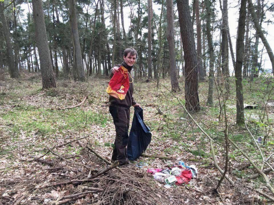 Schnell waren einige Müllsäcke voll. Einerseits traurig, andererseits zeigt es doch, wie wichtig solche Aktionen sind.