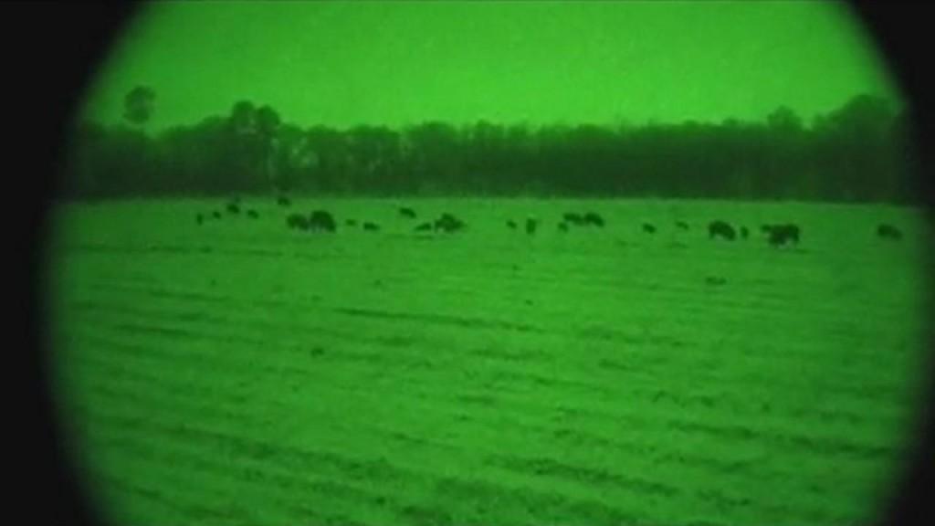 Nachtzielgerät im Einsatz ©Screenshot Youtube