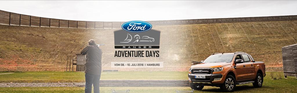 Ford Adventure Days Aufmacher