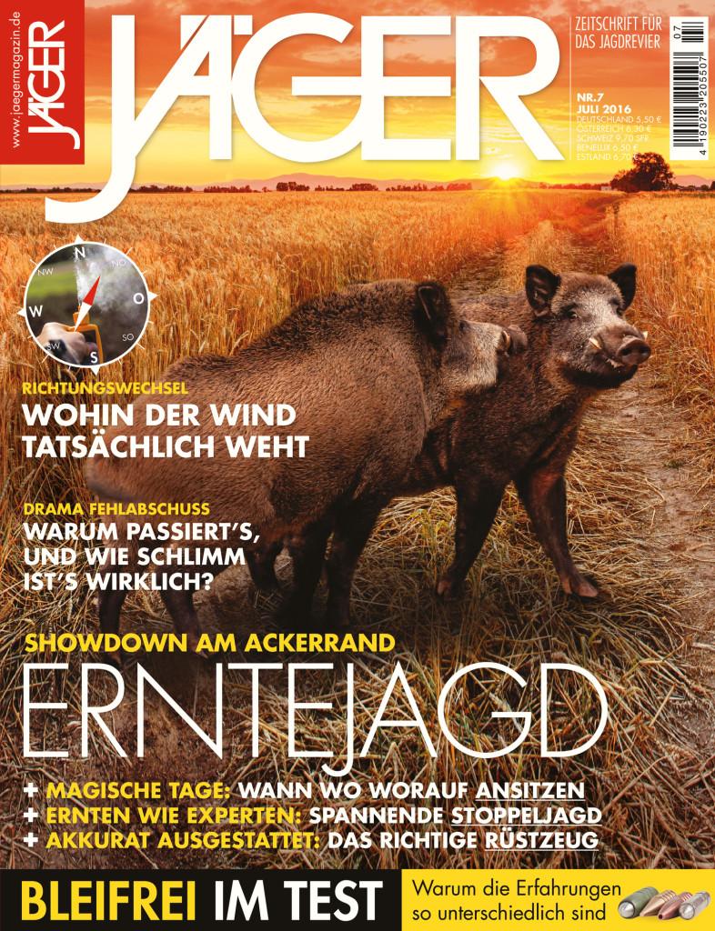 Jaegermagazin Ausgabe Juli 2017