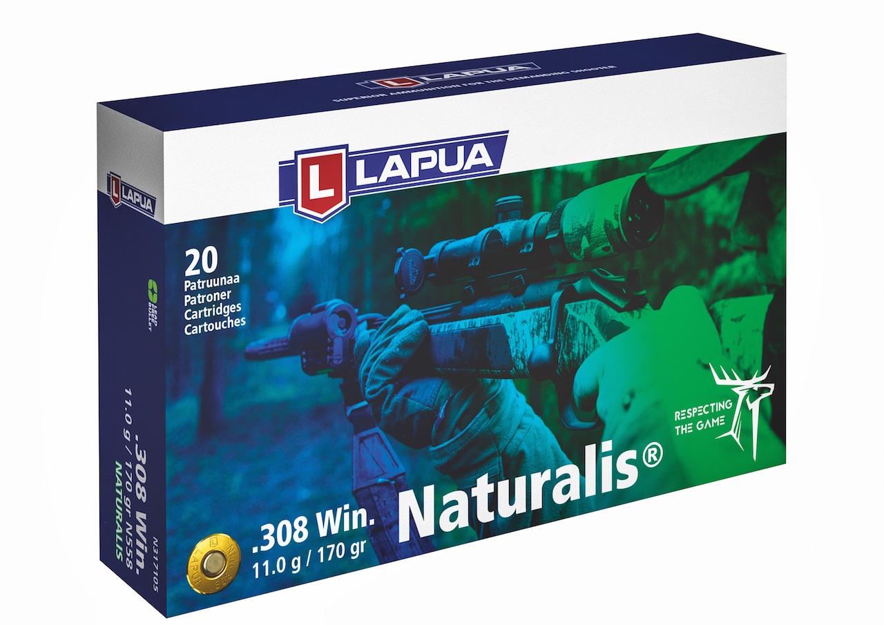 Die dritte Generation der Büchsenmunition Lapua Naturalis wird uns auf der Testreise begleiten. Das Besondere: das 100-prozentige Restgewicht des Geschosses nach der Expansion.