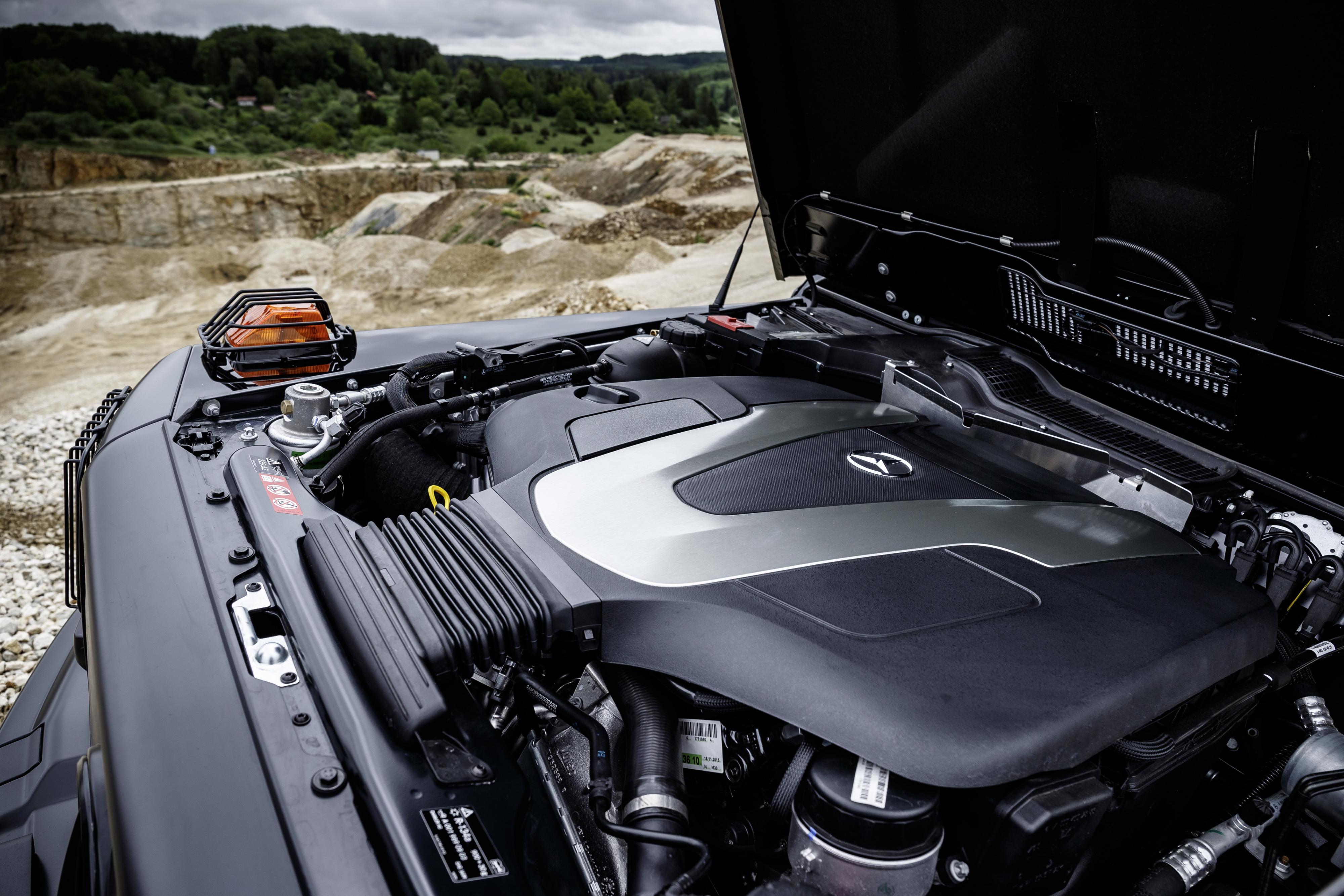 Mercedes-Benz G-Klasse G 350 Professional 2016 Jagd Jäger Revier Allrad