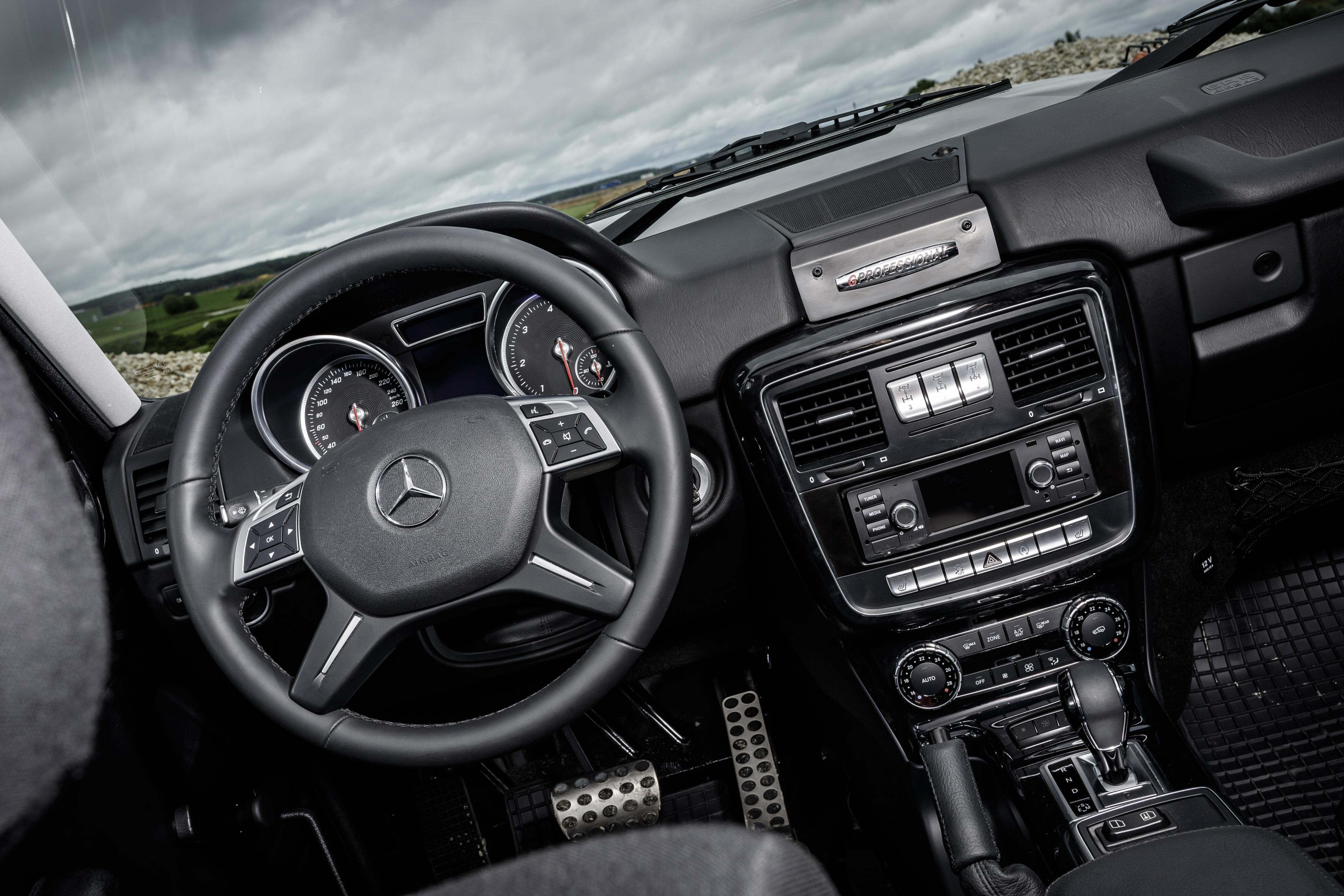 Funktionalit t pur in der mercedes g serie der g 350 d for Mercedes benz g 350