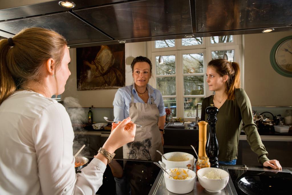 Alice Schwarzers Alptraum: Kochen darf (auch Frauen) ruhig Spaß machen. ©Pauline von Hardenberg