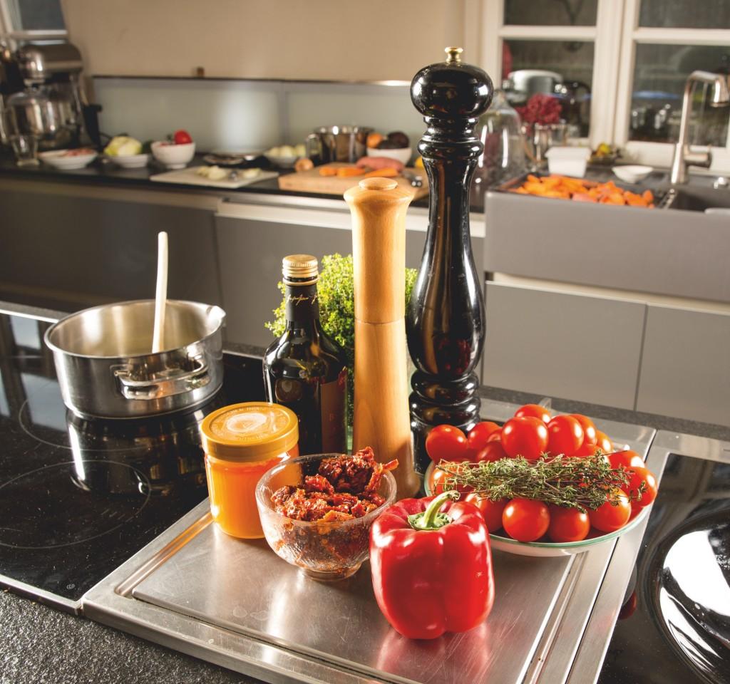 Hausgemachter Ketchup: auf- wändig, aber äußerst köstlich! ©Pauline von Hardenberg
