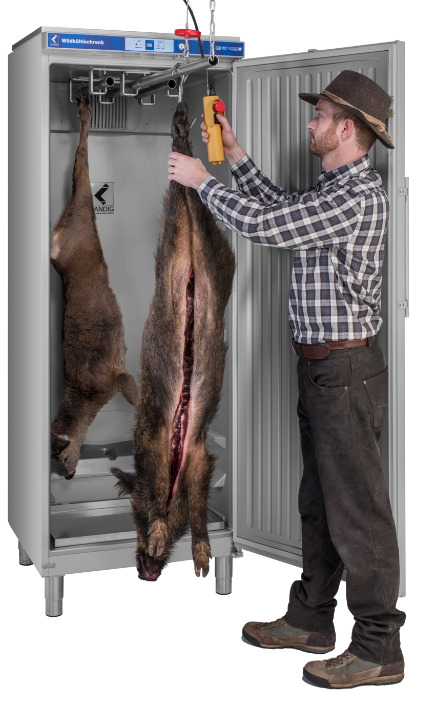 HARALD_RUESSEL jaegermagazin advertorial Landig wildkühlschrank LU9000