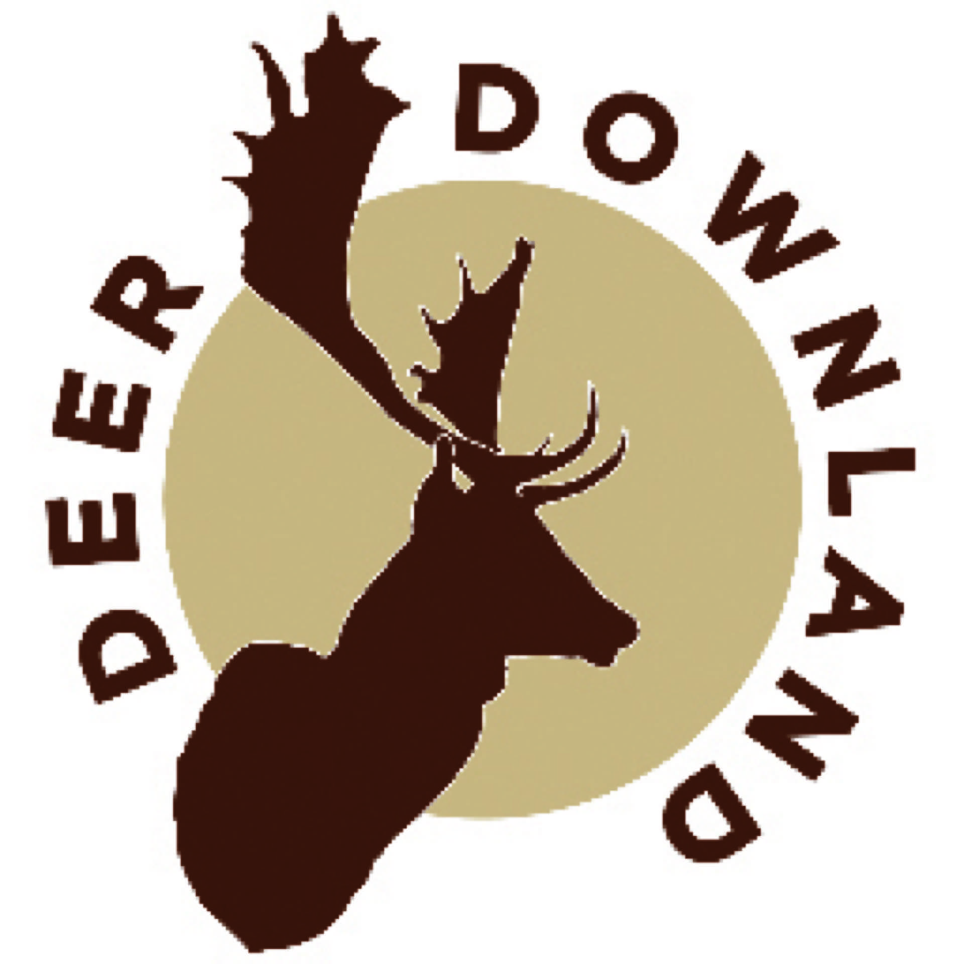 Downland deer logo jaegermagazin jagd Mike Robinson jagen Damwild Wildbret