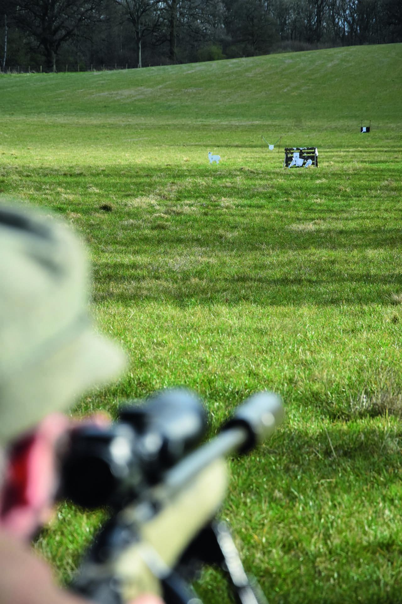 Einschiessen jaegermagazin jagd Mike Robinson jagen Damwild Wildbret