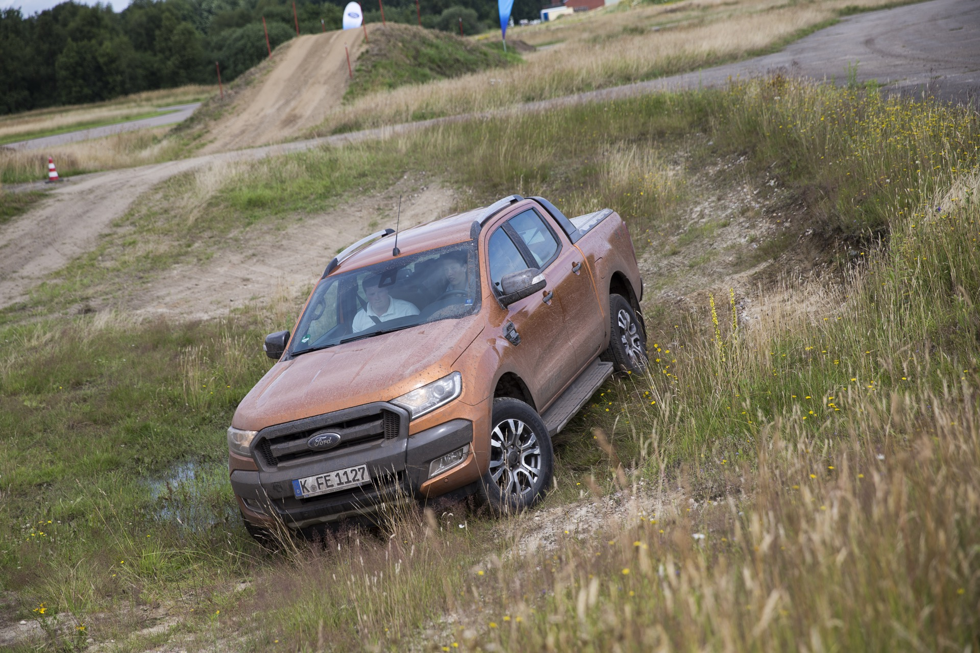 jaegermagazin jagd Ford Ranger Adventure Days 2016