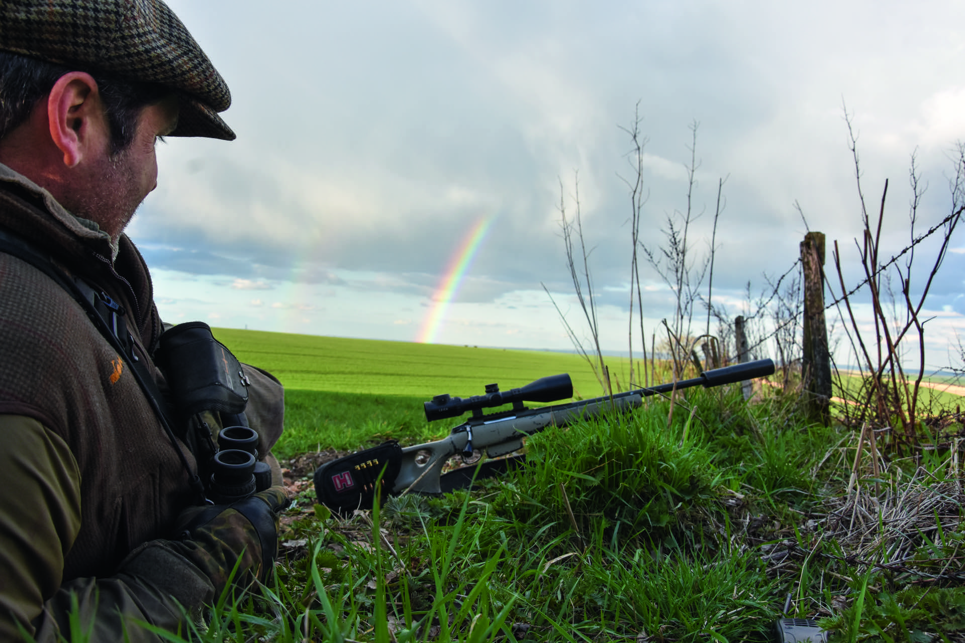 Regenbogen 3 jaegermagazin jagd Mike Robinson jagen Damwild Wildbret