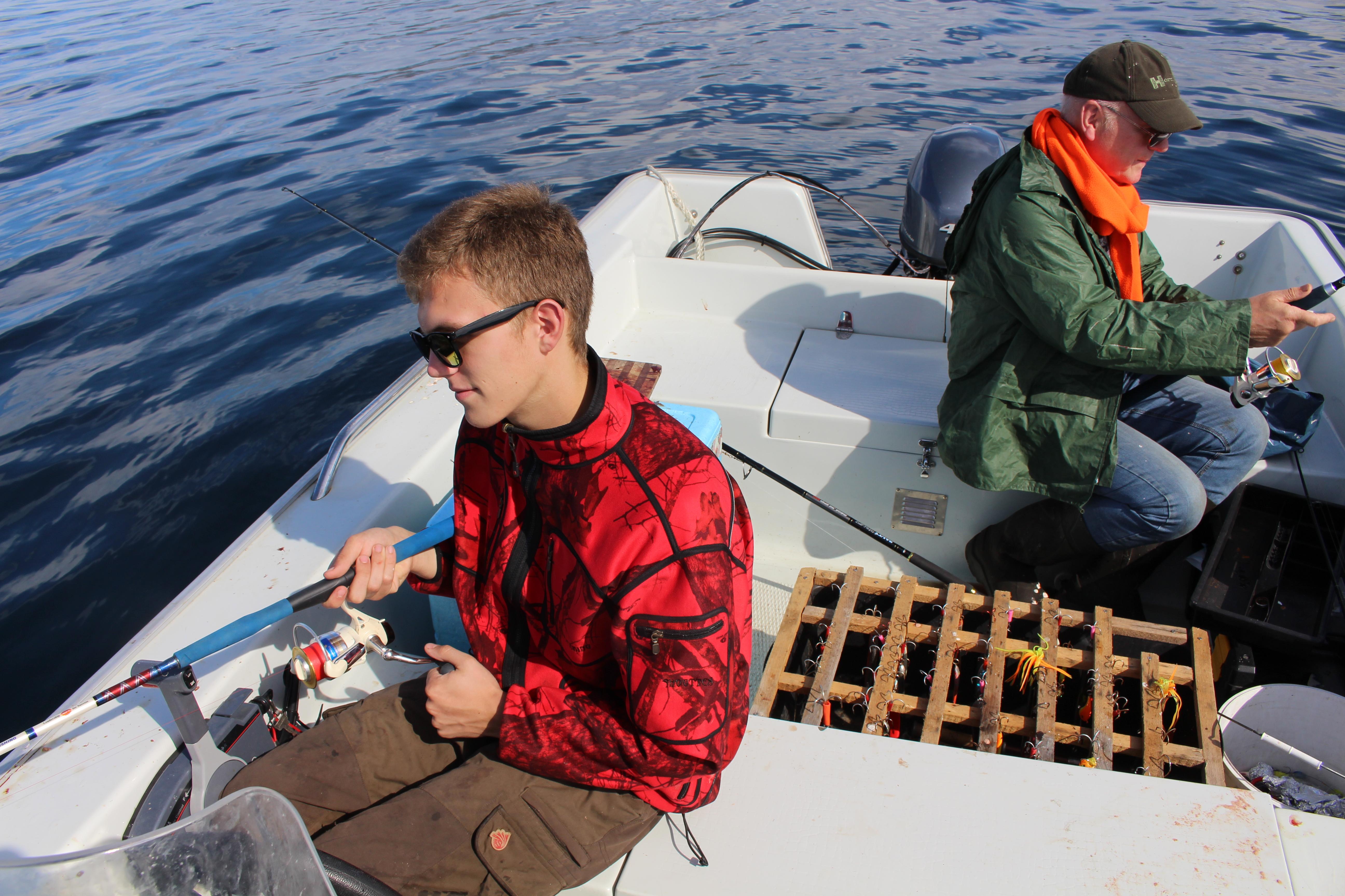 Beißflaute - wenigstens ist das Wetterr schön jaegermagazin Wilddiebe Angeln in Norwegen