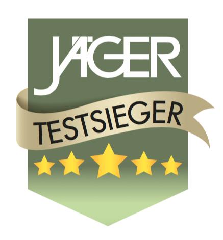JÄGER Testsieger Test