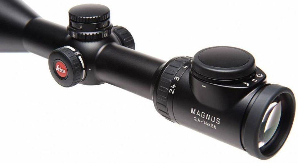 LEICA MAGNUS 2,4-16X56 Jagd jagen jäger jaegermagazin Test Nachtjagd Zielfernrohre Zielfernrohr