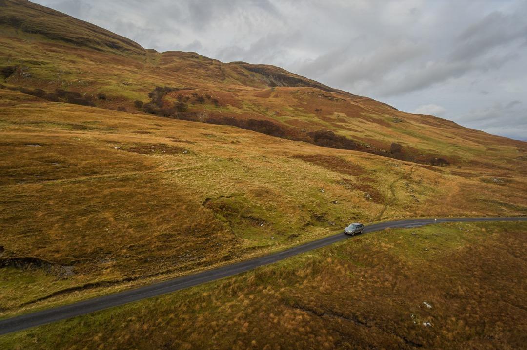 Rover Range RoverJagd Jäger Jagdreise Testreise Jagd in Schottland Jägermagazin