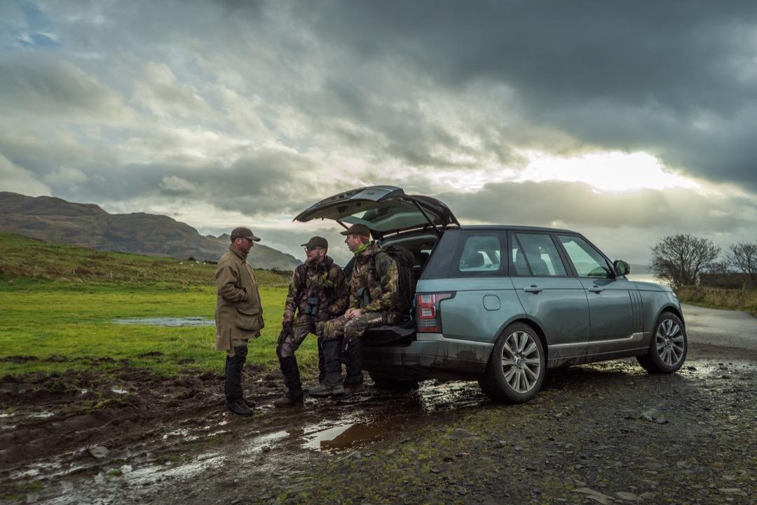 Rover Range Rover Jagd Jäger Jagdreise Testreise Jagd in Schottland Jägermagazin