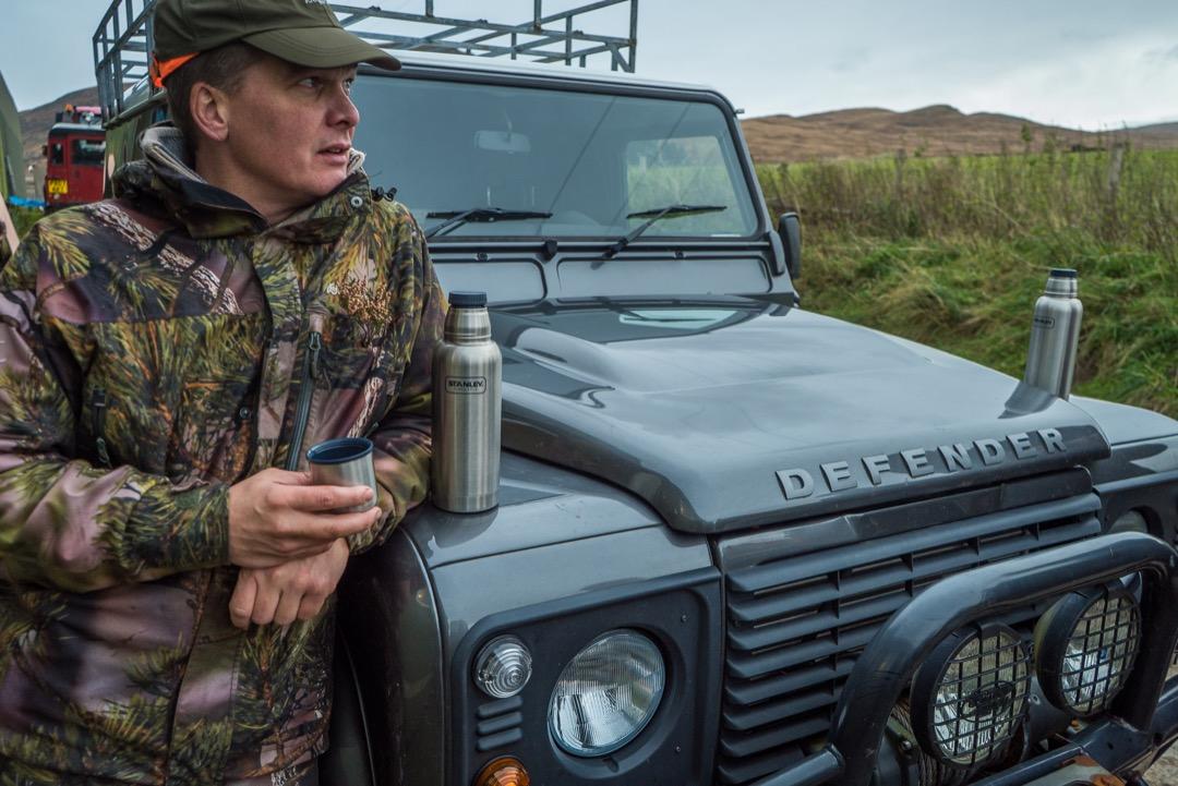 Stanley Jagd Jäger Jagdreise Testreise Jagd in Schottland Jägermagazin