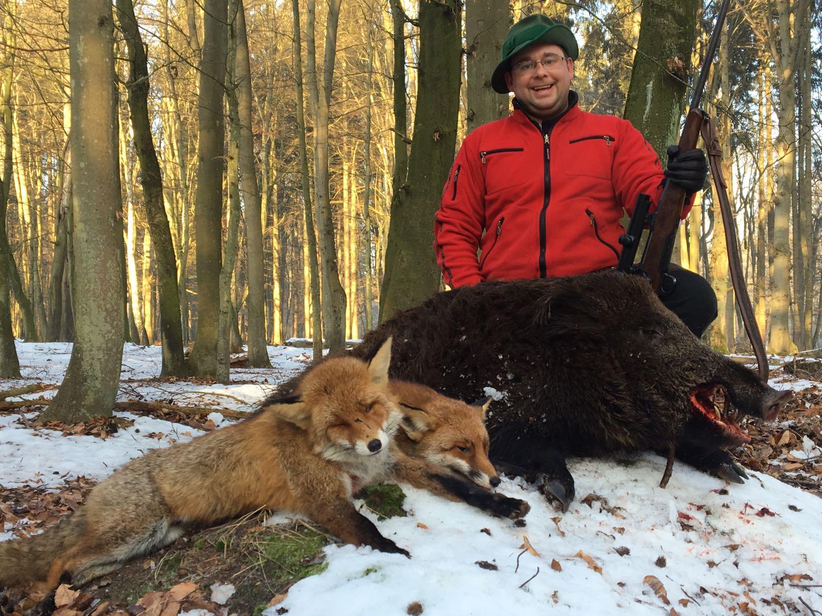 Jagd Jagdtag Jägermagazin Wilddiebe Reilmann Drückjagd Keiler Sauen Fuchs