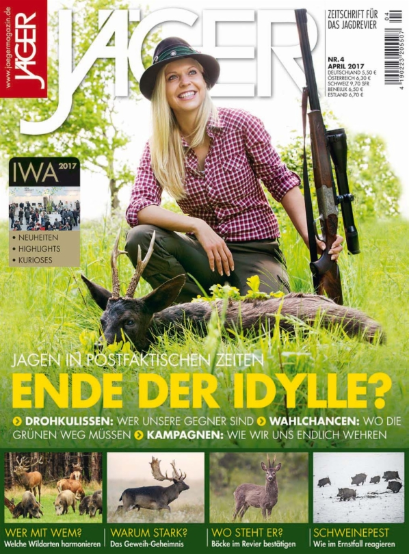 JÄGER MAGAZIN Jägermagazin April 2017