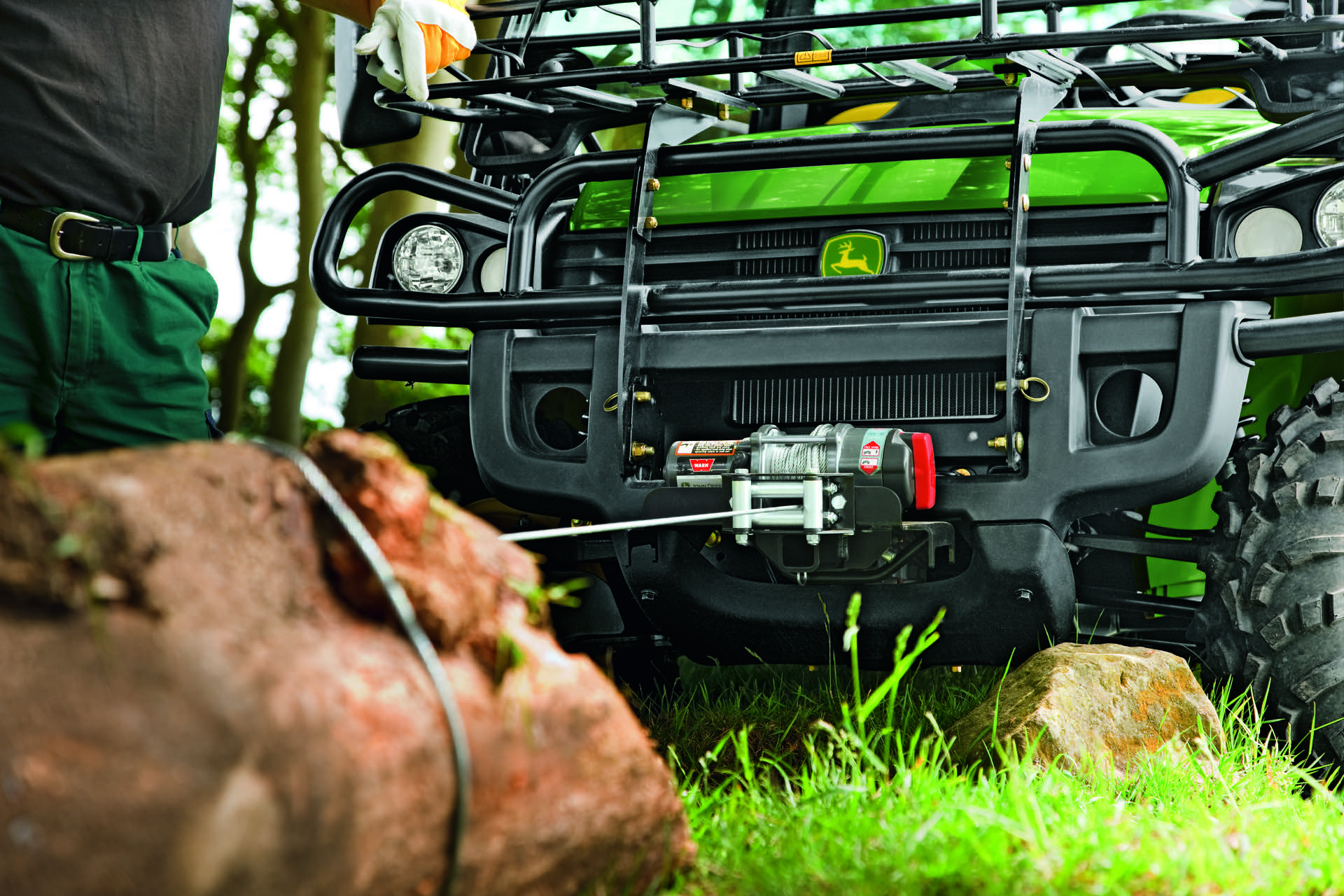 John Deere Gator Revierfahrzeug XUV Revier 4x4 Transport