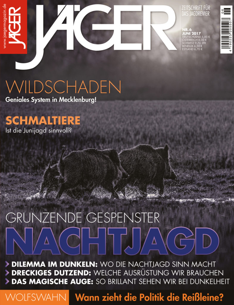 Nachtjagd Jäger Jägermagazin Ausgabe Juni 2017 JTSV Jahr Top Special Verlag