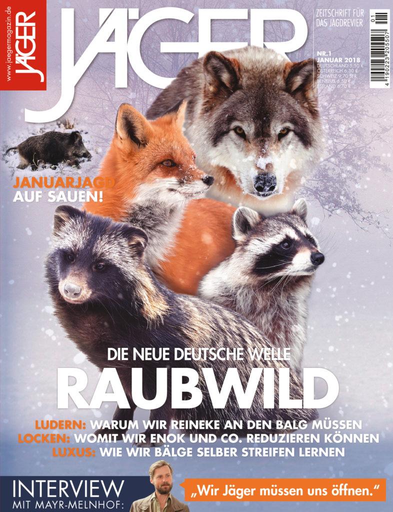 JÄGER Magazin Jahre TSV Jahr Verlag Januar 2018