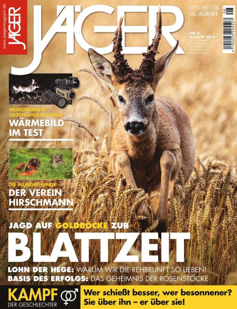 JÄGER Magazin August 2018 Blattzeit