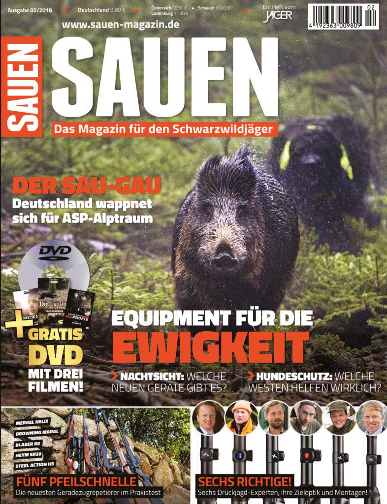 SAUEN Magazin Herbst 2018 – Equipment für die Ewigkeit