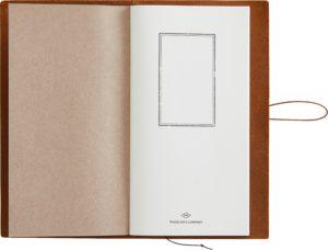 Notizbuch TRAVELER´S NOTEBOOK CAMEL von MIDORI