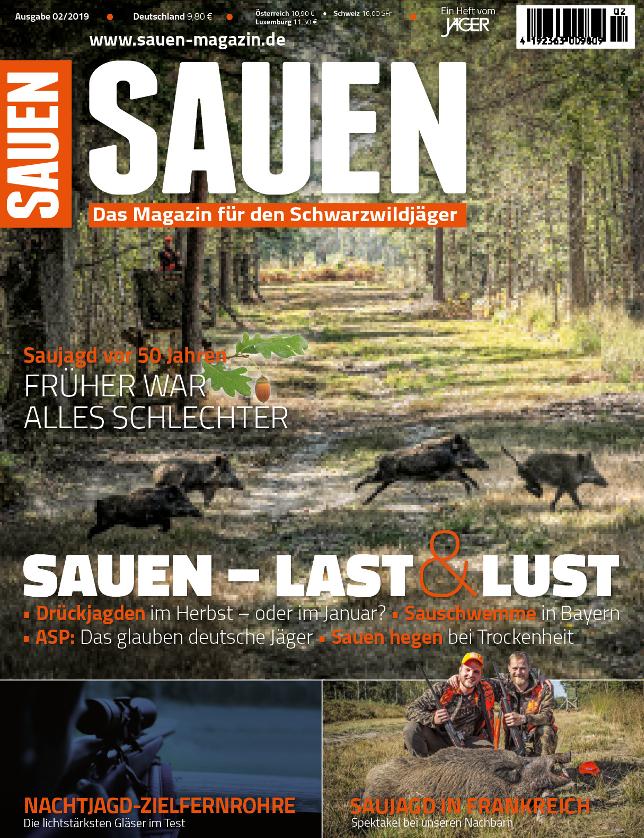 Sauen Titelbild 02/2019